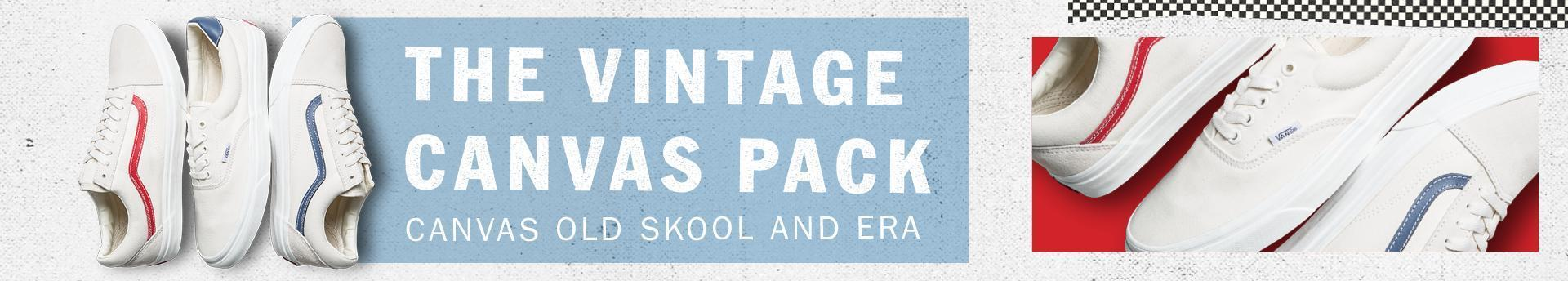 Vintage Canvas Pack