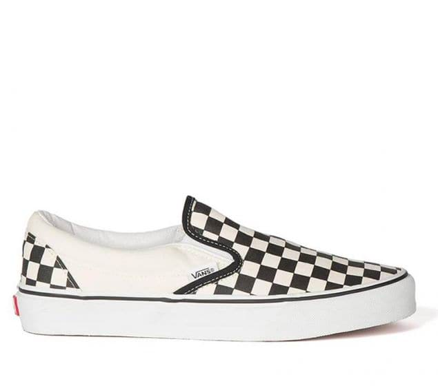 reins Independently May  Shop Vans Classic Slip-Ons Black/White (Checkerboard) | Vans Australia