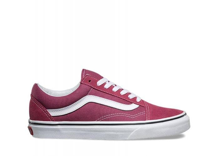 26d9e6b4448 Shop Vans OLD SKOOL DRY ROSE T WHT