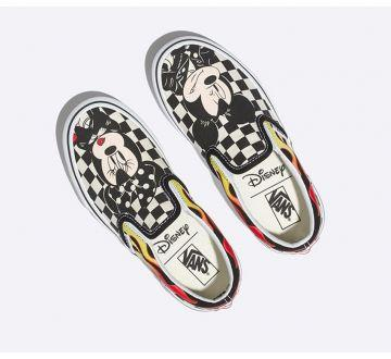 a228770f98 ... Disney X Vans Kids Mickey   Minnie Slip-On