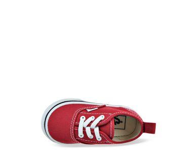 19521102225172 ... Toddler Authentic Elastic Lace Red White