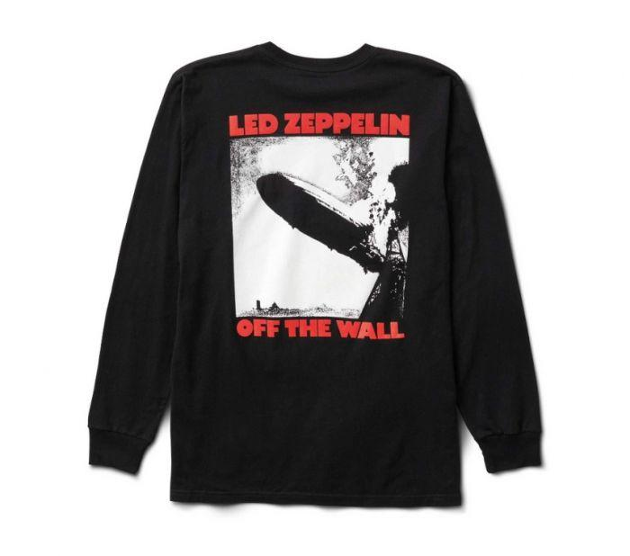 eac24c90a Shop Vans Apparel and Accessories VANS X LED ZEPPELIN LS BLACK | Vans  Australia
