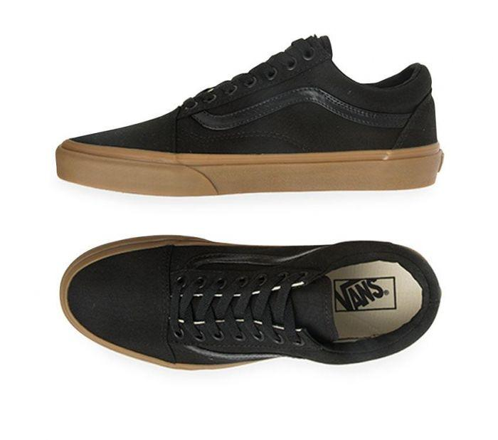 52381a8968a Shop Vans Old Skool Canvas Gum