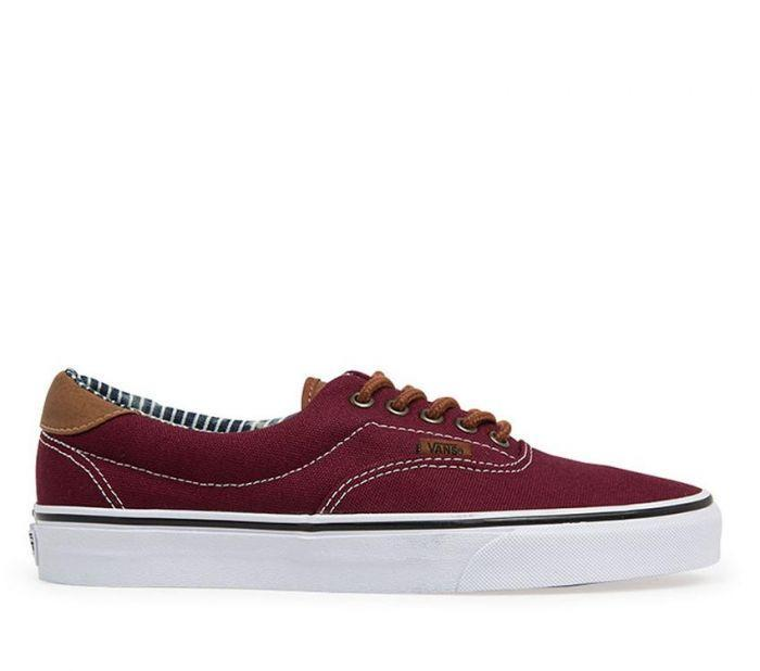 ec8c1e38b65 Shop Vans Era 59 Port Royale Stripe Denim