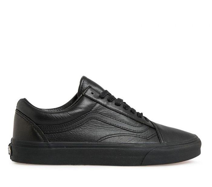 Shop Vans Old Skool Leather  bae2ae58e8e4