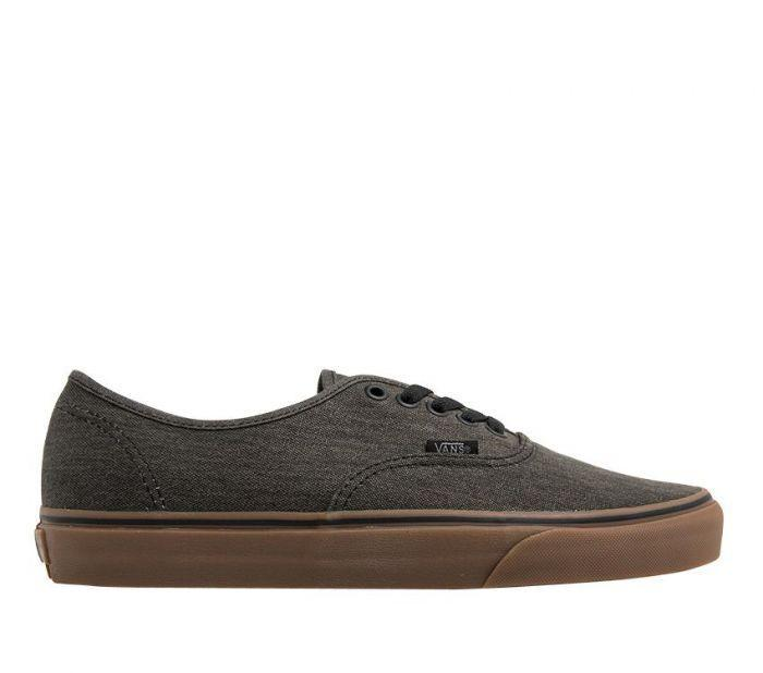 0a1e7d842620 Shop Vans Authentic (Washed Canvas) Black Gum