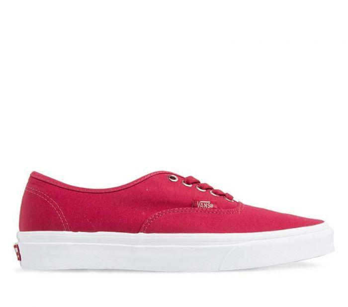 Shop Vans Authentic (Multi Eyelets) Gradient   Crimson  ed9f5437e