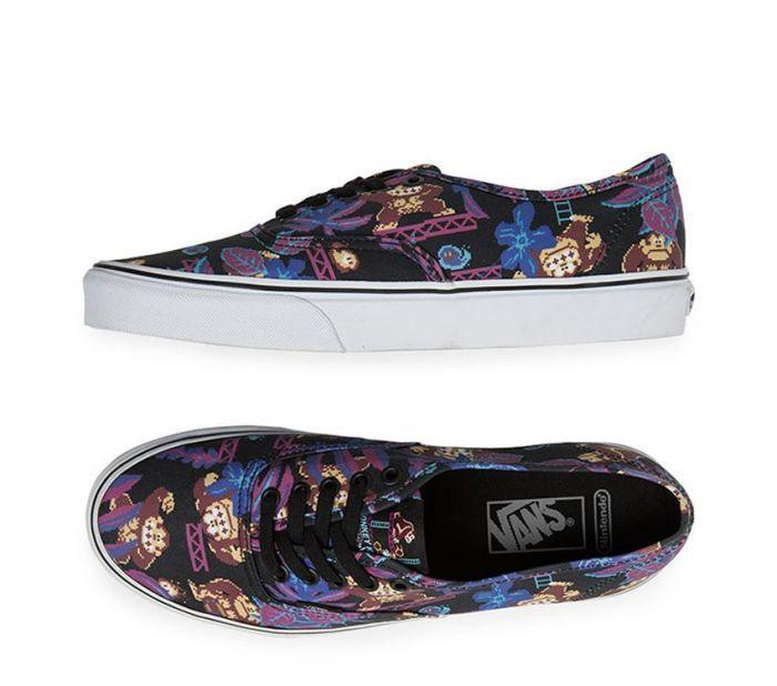 d372a6ed6aabb3 Shop Vans Authentic Donkey Kong