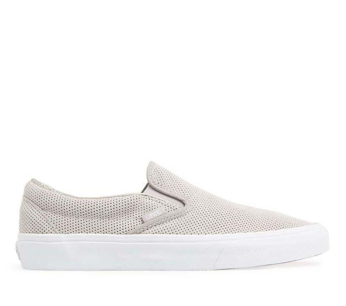 Shop Vans Classic Slip-on (Perforated Suede)  a61966deb