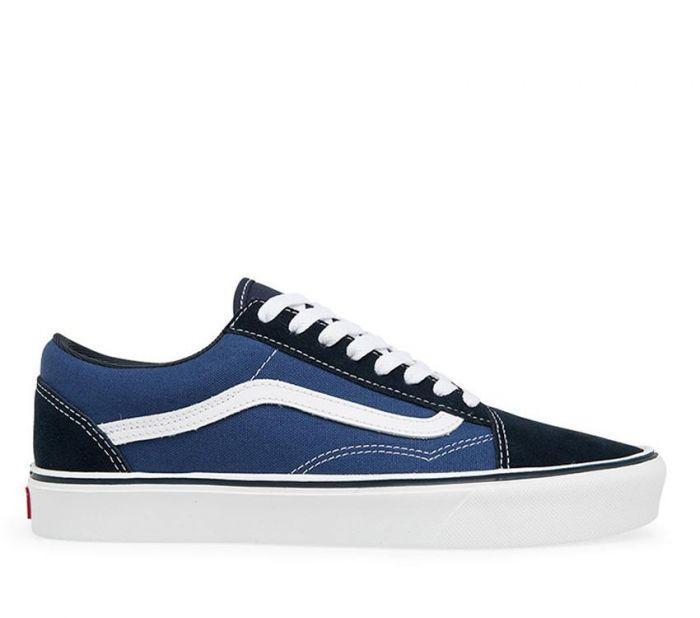 68eff063814e Shop Vans Old Skool Lite + (Suede) Navy White
