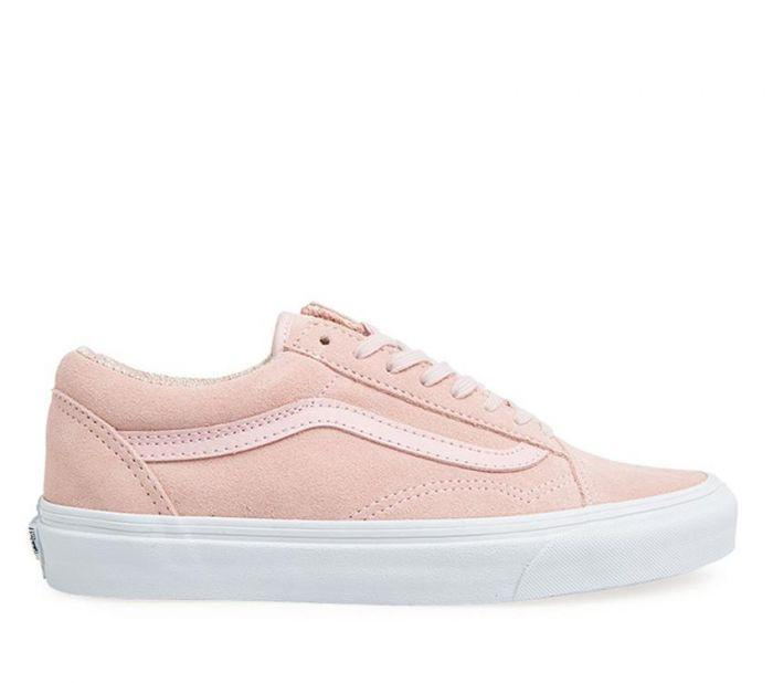 0b63cfc0290a Shop Vans Old Skool (Suede) Peachskin White