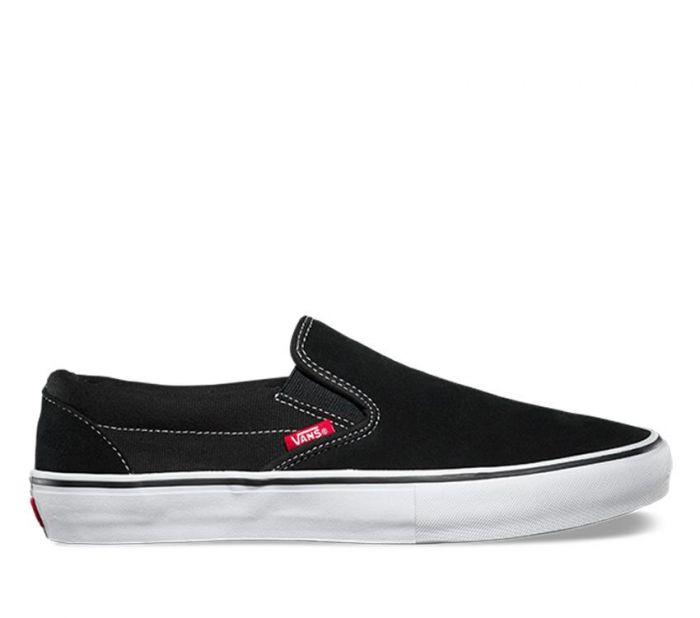 Shop Vans SLIP-ON PRO BLACK WHITE GUM  3c87acb23