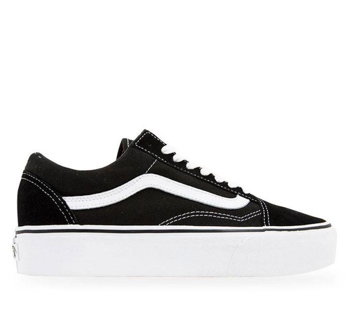 Shop Vans Old Skool Platform  b181e85b4