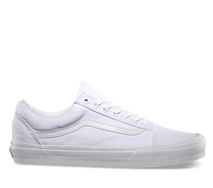 49f955bb5f Shop Vans Old Skool True White