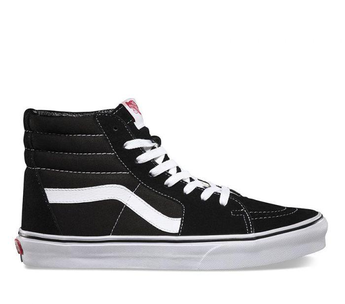 be02f093e1 Shop Vans SK8-Hi Black