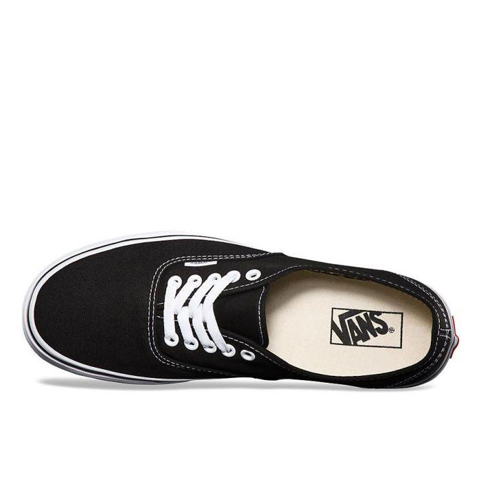 1c889202e3 Shop Vans Authentic Black White