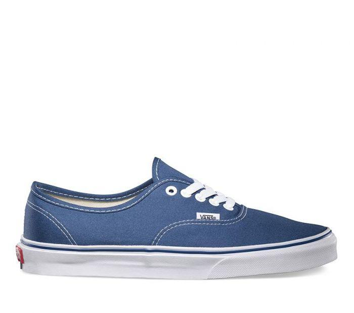 vans navy authentic