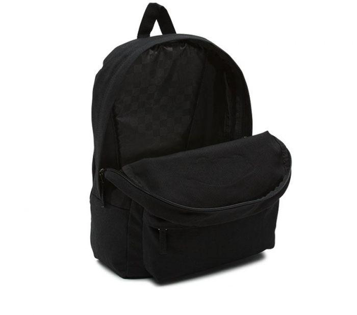 d73865d147 Shop Vans Apparel and Accessories REALM BACKPACK ONYX