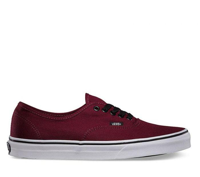 a516c4e581 Shop Vans AUTHENTIC PORT ROYALE BLACK