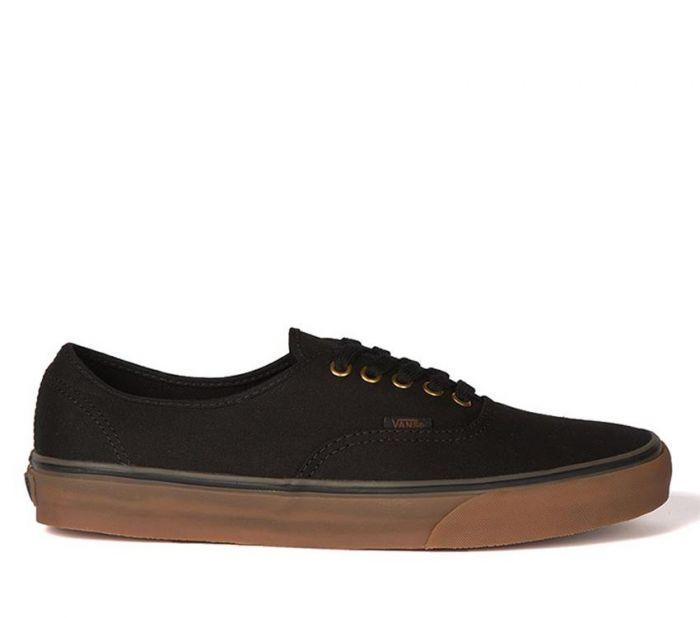 Shop Vans Authentic Black Rubber  5fab162dbf