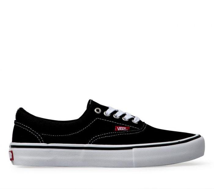 21f022a6e8 Shop Vans ERA PRO BLACK WHITE GUM