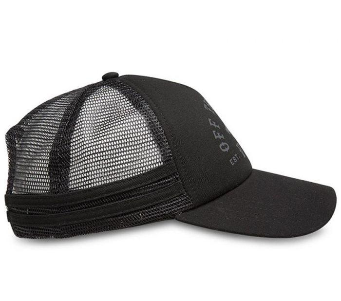 76fd241ab5cf4b Shop Vans Apparel and Accessories OL Sport Trucker Cap Black