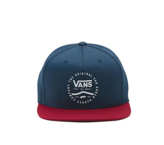 Shop Vans Apparel and Accessories Side Stripe Snapback Hat  7975b5165c0