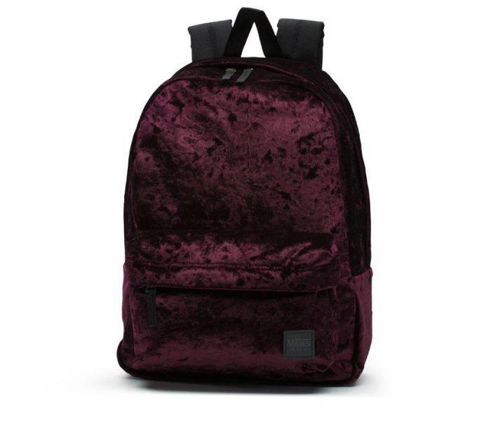 7e7fe403ef Shop Vans Apparel and Accessories DEANA III BACKPACK BURGUNDY