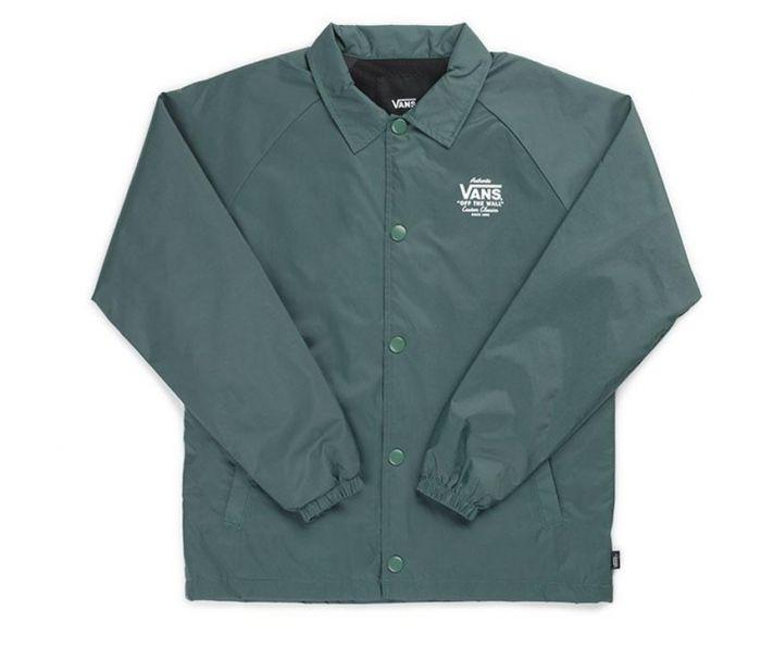 2e12fdfd3a Shop Vans Apparel and Accessories TORREY BOYS JACKET DARK FOREST ...