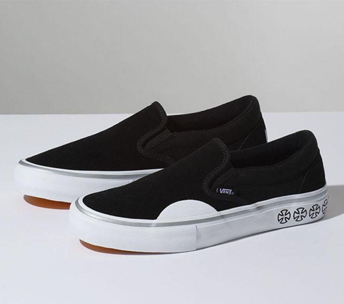 53f1a22ac7b2c2 Shop Vans SLIP-ON PRO (INDEPENDENT) BLK