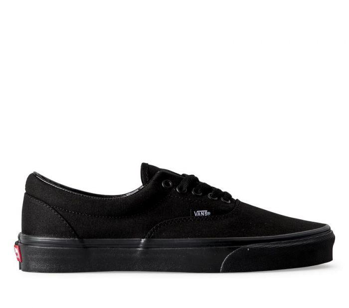 61721ba7a183 Shop Vans ERA BLACK BLACK