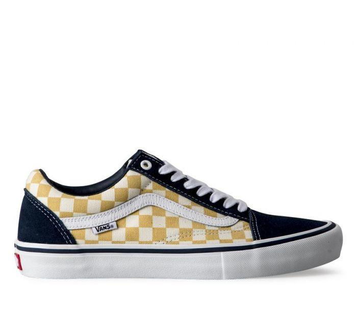 46ca89ef965d Shop Vans OLD SKOOL PRO (CHECKER)BLU OCH