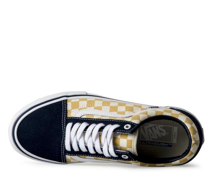 ecb6242c5ba369 Shop Vans OLD SKOOL PRO (CHECKER)BLU OCH
