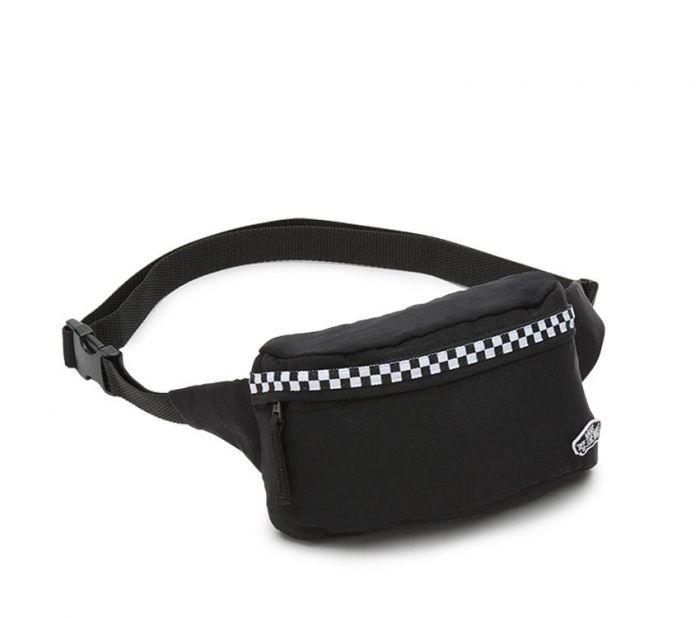 8f51073bbb8 Shop Vans Apparel and Accessories BURMA FANNY PACK BLK-MICROCHK | Vans  Australia