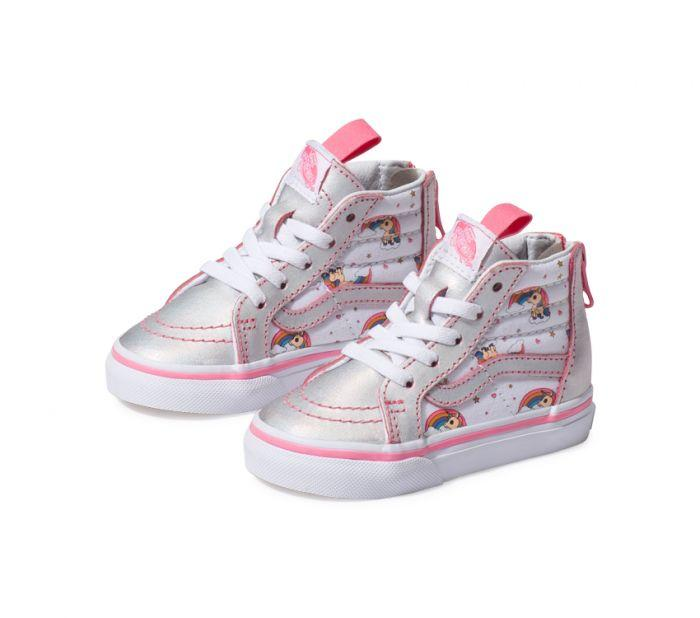 923b7b103c52 Shop Vans TD SK8-HI ZIP (UNICORN RB) PNK
