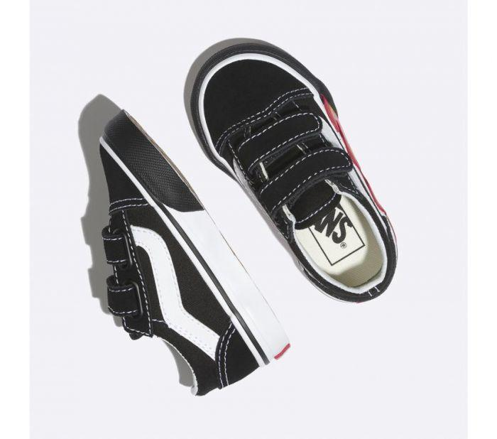 d74f1508a5 Shop Vans TD OLD SKOOL V (FLAME CUTOUT)