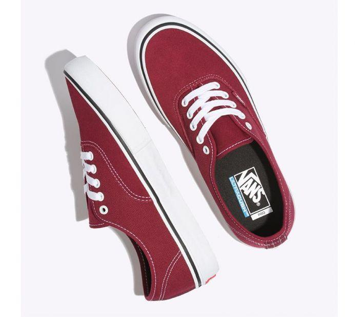 Shop Vans MN AUTH PRO RUMBA RED PORT  bf5cb5098