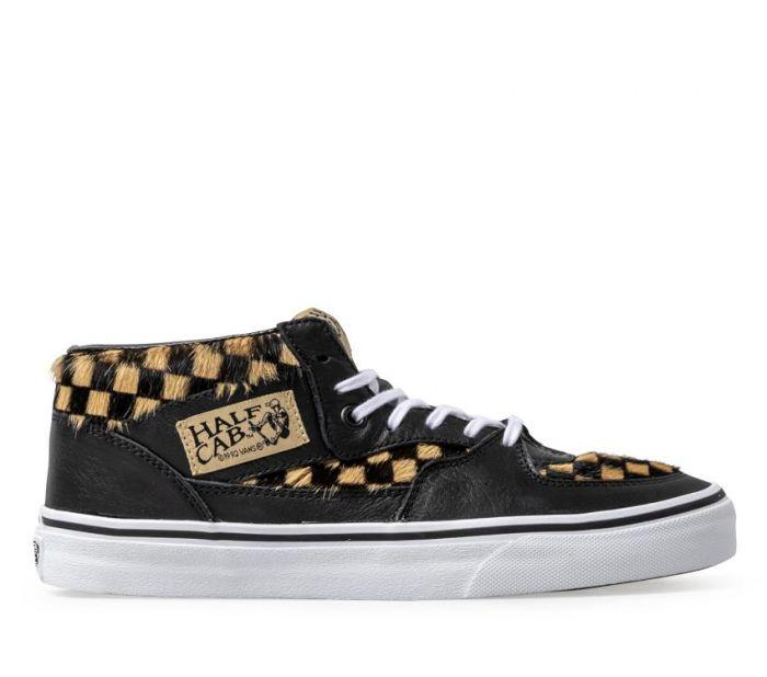 1fd329db40 Shop Vans HALF CAB (CALF HAIR) CHECKER