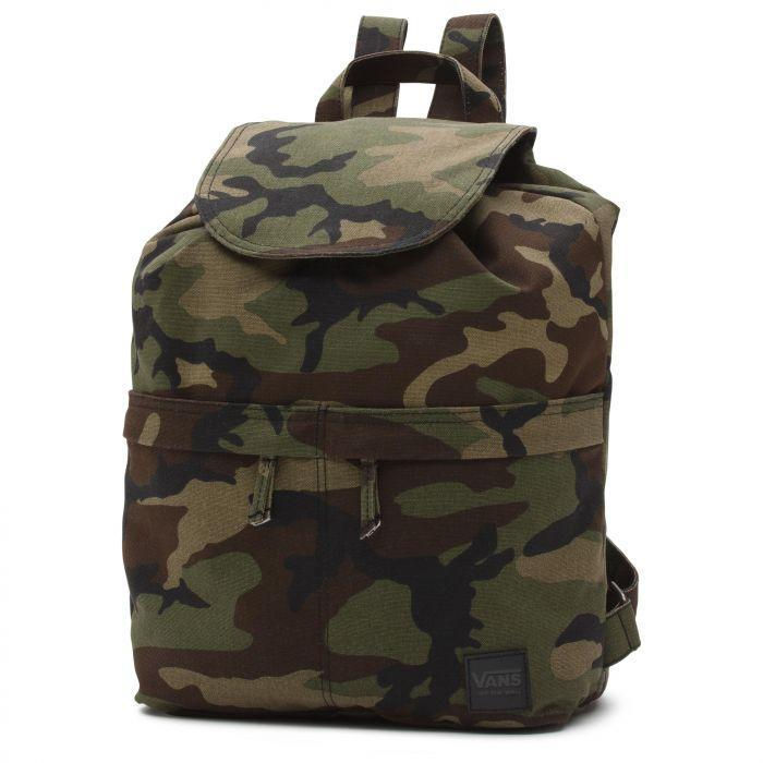Shop Vans Apparel and Accessories LAKESIDE BACKPACK CAMO  05243742c2