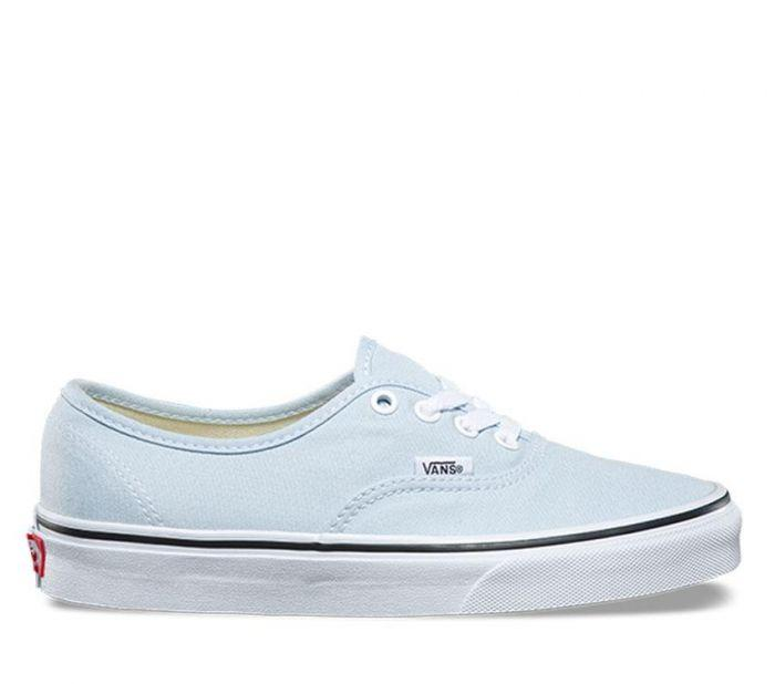 3a5d43703e Shop Vans AUTHENTIC BABY BLUE TRUE WHITE