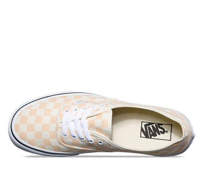 Shop Vans AUTH (CHECKERB) APRICOT ICE WH  aefc9983b