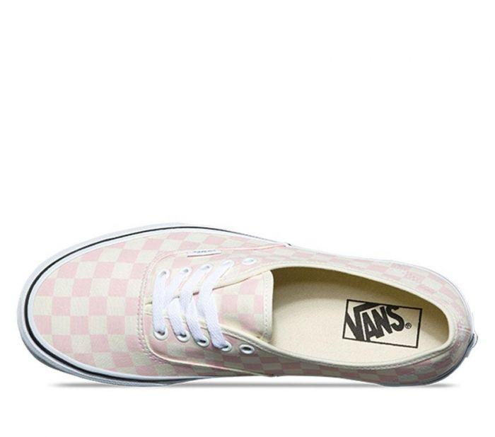 2b9ffb7739f Shop Vans AUTH (CHECKERB) CHALK PNK WHT