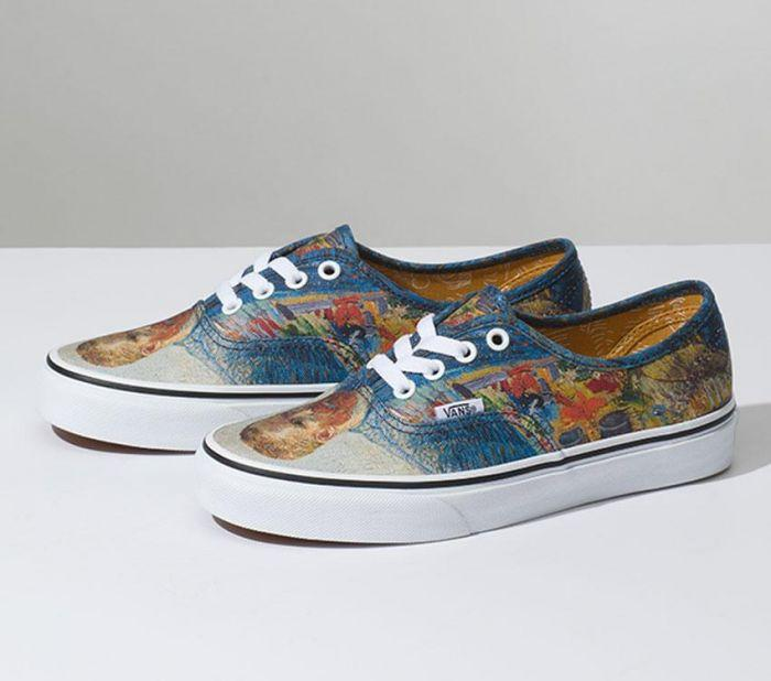 ac89af37242 Home  Vans x Van Gogh Museum Self Portrait Authentic. Skip to the end of  the images gallery