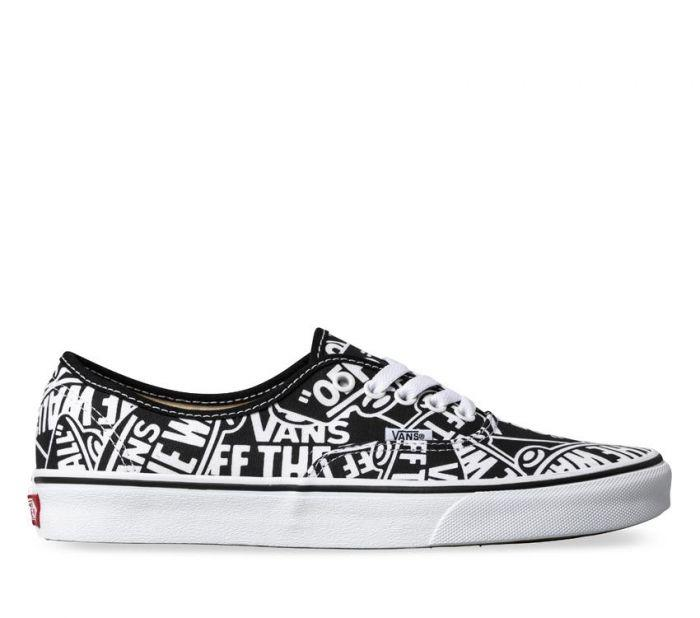 cac760583567a6 Shop Vans Authentic Off The Wall Repeat