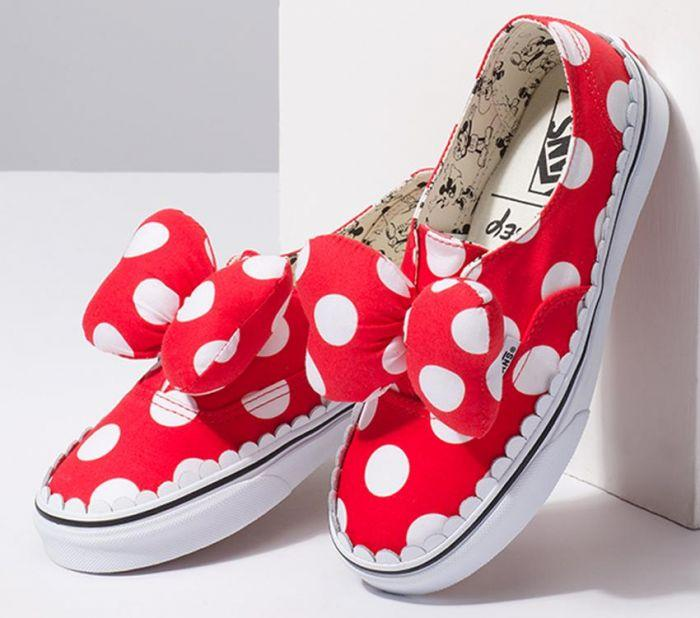 6abc87a32f Shop Vans AUTH GORE DISNEY MINNIE S BOW