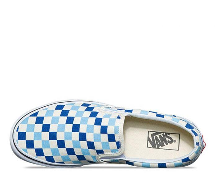525c7d248f Shop Vans CSO (CHECKER) BLUE TOPAZ BLUE