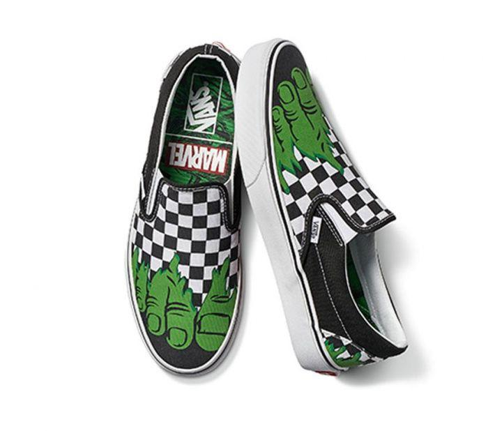 625e7246ca6873 Shop Vans CSO MARVEL HULK CHECKERBOARD