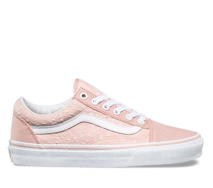 Vans Old Skool Marled Canvas Evening SandTrue White in 2018 8ec00b112