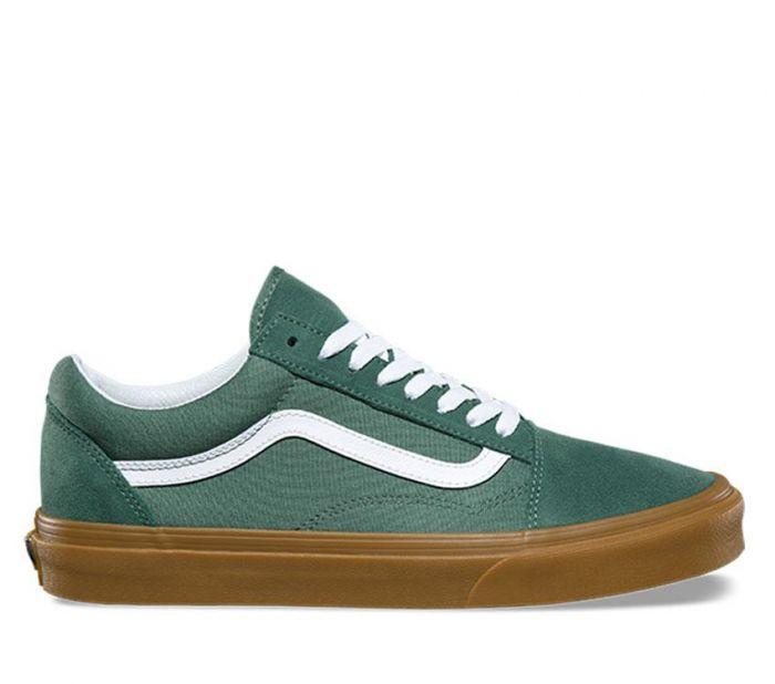 2afa1f370d6 Shop Vans OLD SKOOL DUCK GREEN GUM