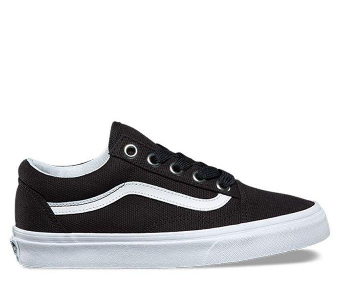 Shop Vans OLD SKOOL (OVERSIZED LACE) BKW  0d68ecfa2
